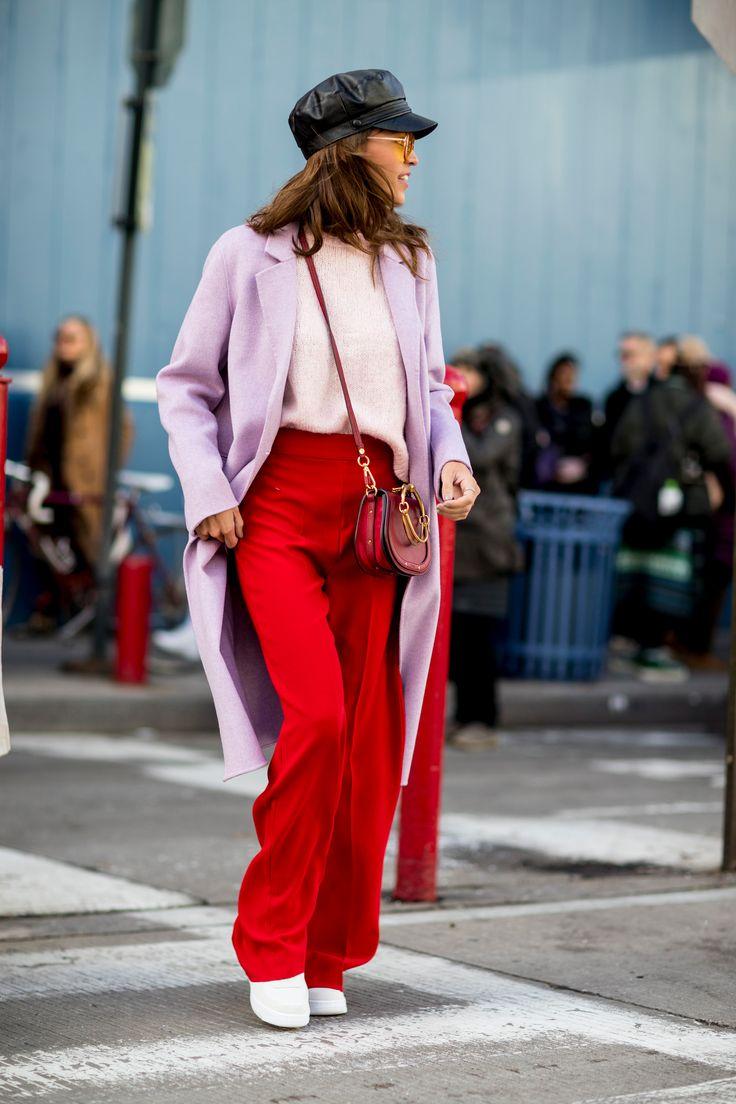 New York Fashion Week Street Style Fall 2018 Day 1 - The Impression