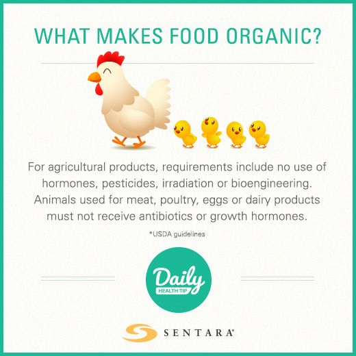What Makes Food Organic?