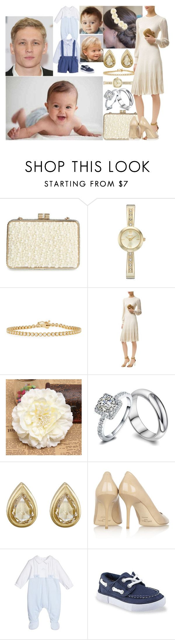"""Rebecca Miller and her family attending the christening of her nephew Konstantin"" by charlottedebora ❤ liked on Polyvore featuring Sondra Roberts, Folio, Alexander McQueen, Tate and Jimmy Choo"