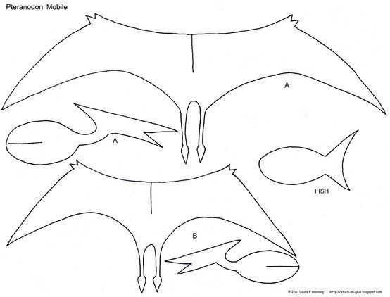 dinosaur decorations - Pteranodon