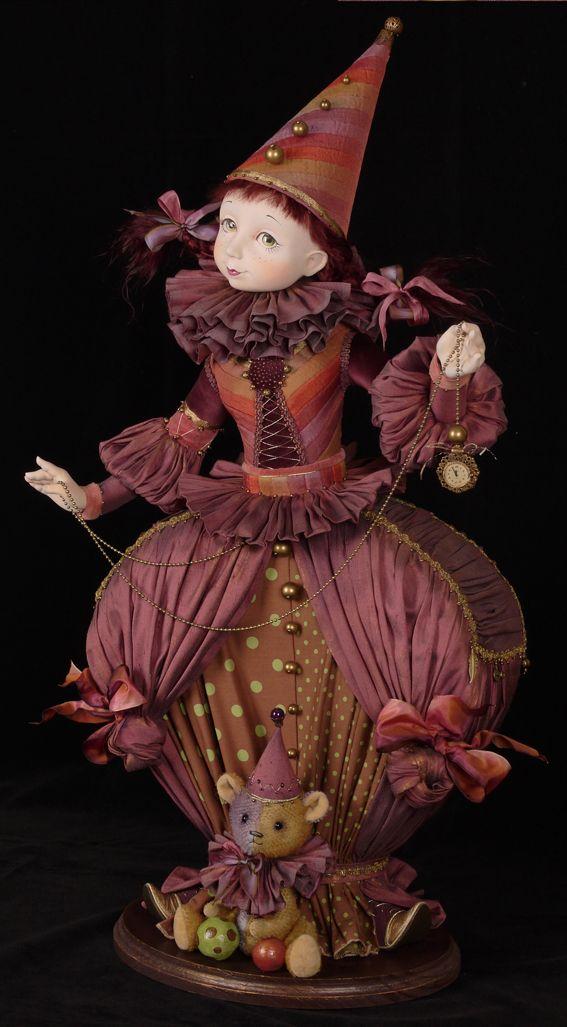 Авторская кукла Тамары Пивнюк / Куклы / Принцесса Цирка Translation: Tamara Pivnyuk Art / Dolls / Princess of the Circus