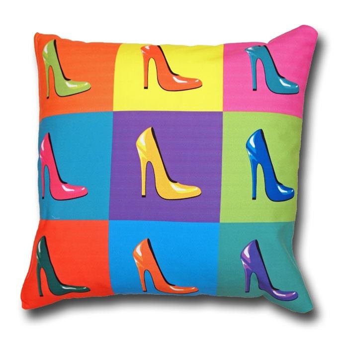 Pop art cushions