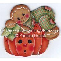 Ginger and Pumpkin by Pamela House - PDF DOWNLOAD