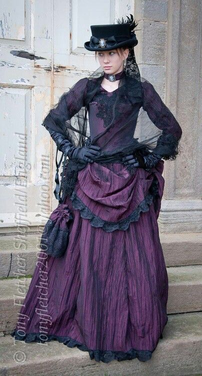 Shades of purple steampunk