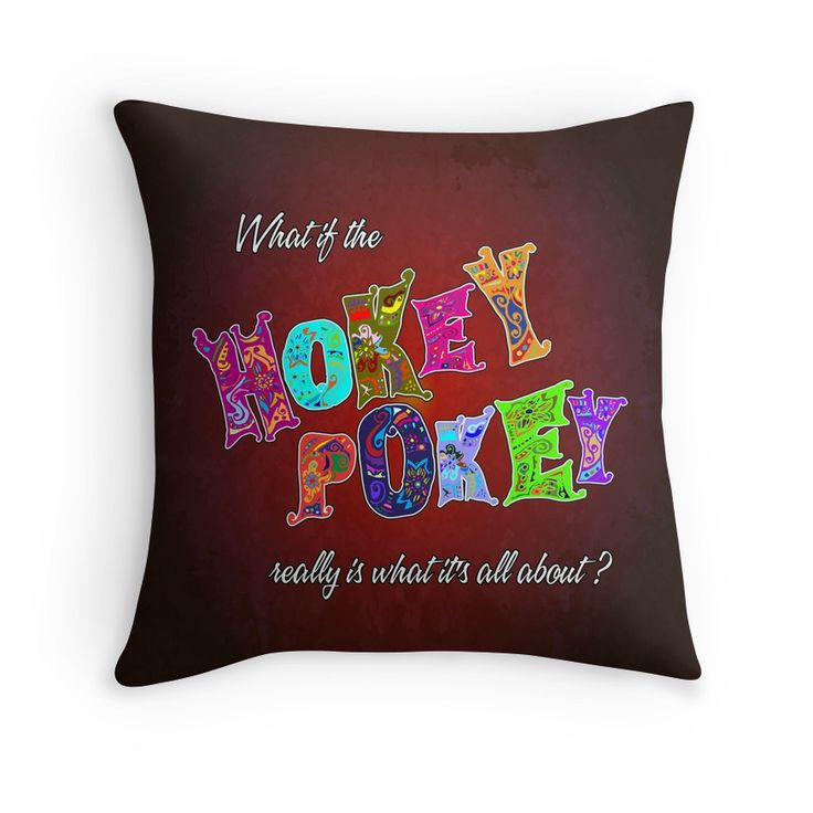 Hokey Pokey - pillow