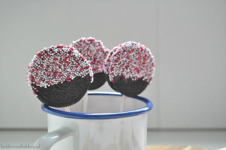 Oreololly's | oreo | oreo lollipops