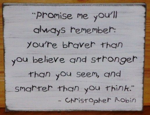 Oh Christopher Robin!