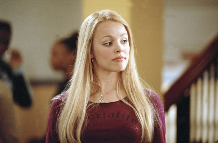Regina George, played by Rachel McAdams, Mean Girls. The epitome of high school bitchiness.