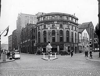 Corner of Hanover Street and Duke Street Costain building in the background