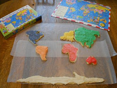 Cookie Map - World Map