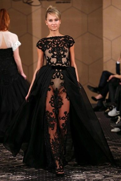 Black Lace Wedding Dress By Jesper Hvring Jesperhvring