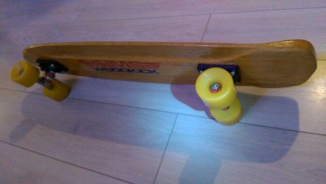 Skateboard woodkick old school nos
