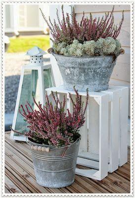 Dekoration für die Terrasse
