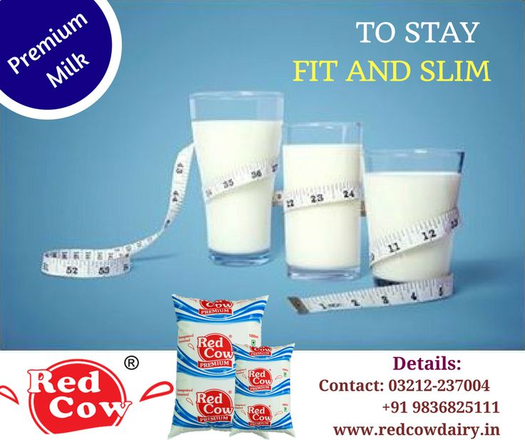 Start the fresh Week with Red Cow Dairy Premium Milk to stay fit and slim Contact: +91 9836825111