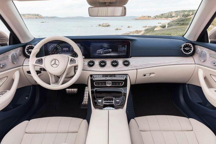 Das neue Mercedes E-Klasse Cabrio ist da. Der offener Viersitzer mit Stoffverdeck garantiert Frischluft-Feeling.