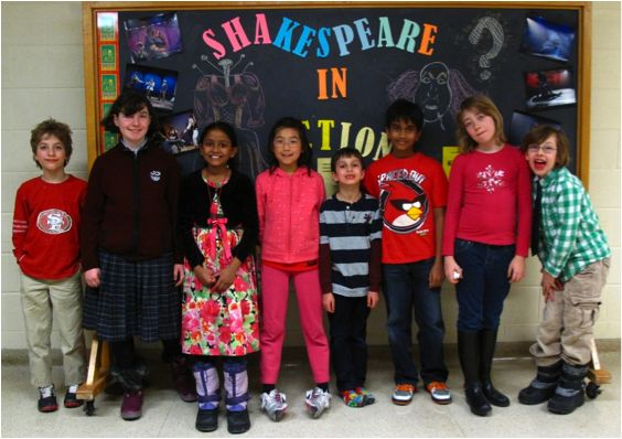 Our 2013 Shakespeare Sonnets by Kids readers! #Shakespeare #Sonnets #ValentinesDay #Fundraiser #Toronto #Education #Gift