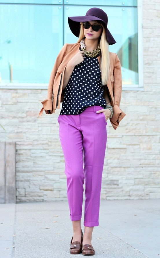 403 best images about How to wear my PURPLE pants on