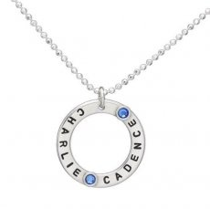 Circle of Love with Birthstones