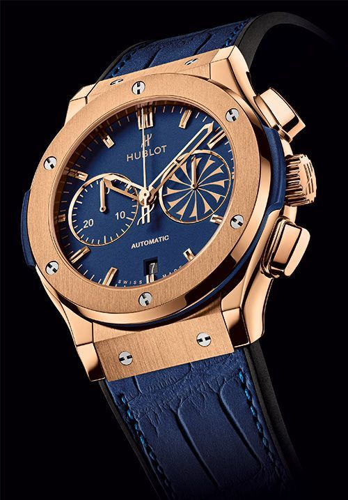 If only something could be more precious than time!! #Hublot #loveforblue
