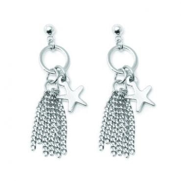 Seabreeze Earrings in Silver - available in gold and silver.$24.00 Get 25% off these earrings with coupon code 'foxy pin' www.foxyoriginals... #earrings, #silverjewelry, #silverearrings, #foxyoriginals, #sistergift, #statement, #jewelrygift, #gift, #holidaygift, #summer, #vacation, #beachystyle, #accessories, #teenagergift
