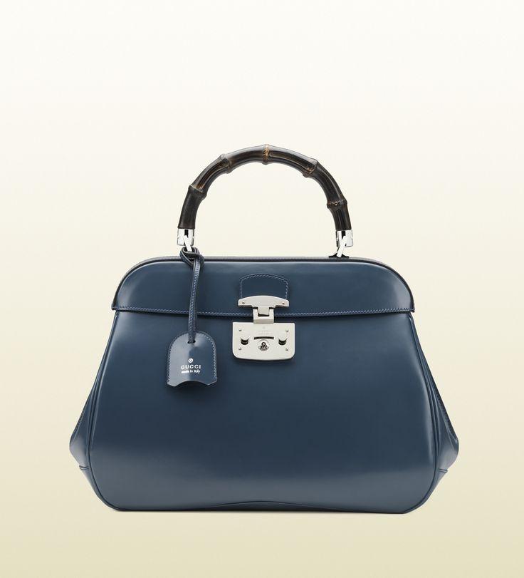 sac à main lady lock en cuir
