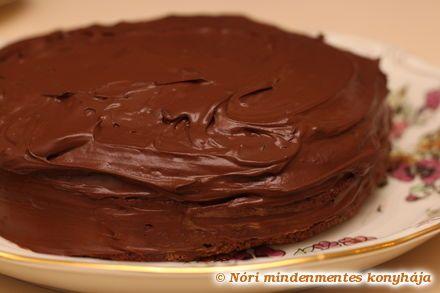 Nóri mindenmentes konyhája: Csupa csoki torta - cukor, liszt és tejtermékek nélkül