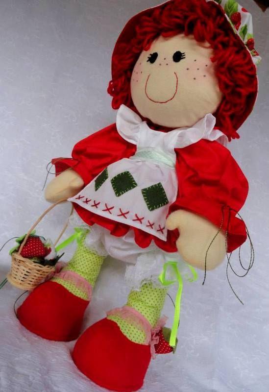 boneca moranguinho