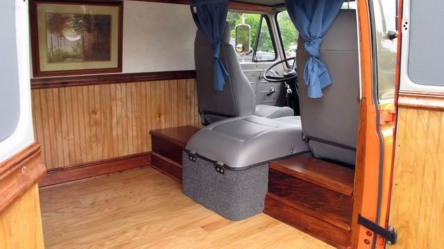 62 Ford Econoline Van Custom Interior
