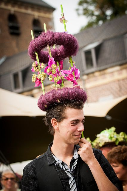 Fleuramour. Hat day.