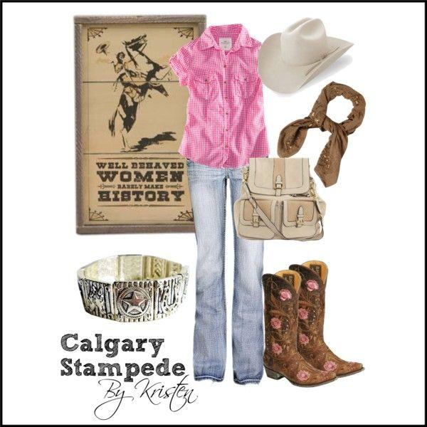 Calgary Stampede Wear. Love the look. #stampedeyyc  @Meghan Krane Gustum
