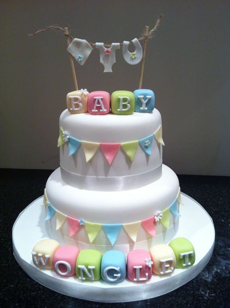 25 best ideas about unisex baby shower on pinterest for Baby shower cake decoration ideas