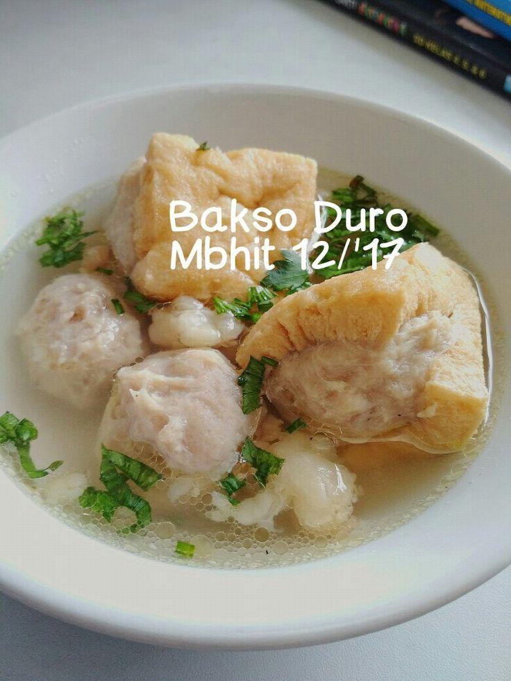 Bakso Duro Marlena  by Mbuk Hita.