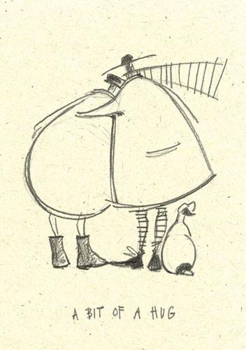'A bit of a hug' by Sam Toft (st33)