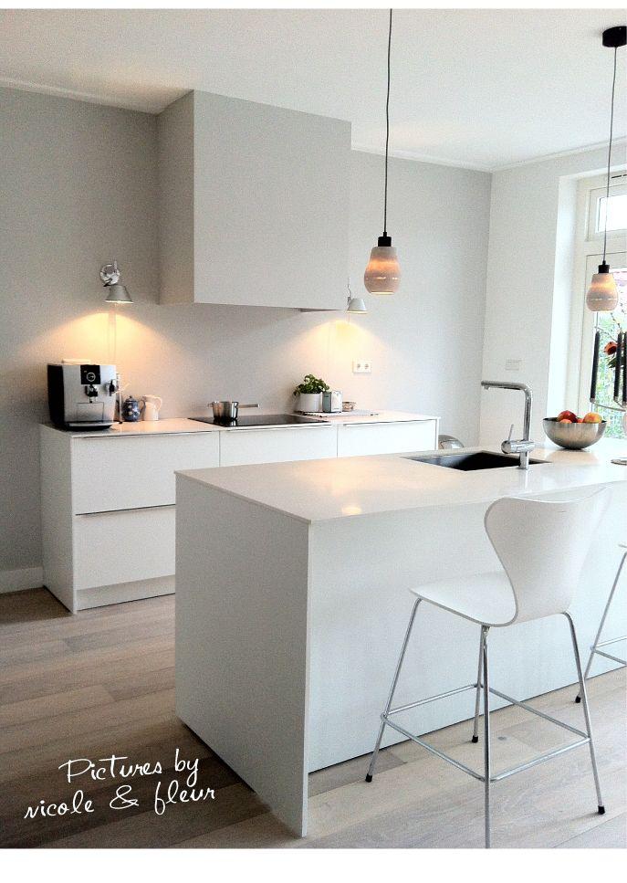 25 beste idee n over keukenmuur kleuren op pinterest keuken verfkleuren keuken kleuren en - Witte keuken decoratie ...