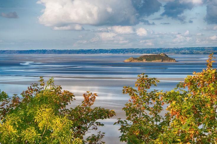 Tomblaine ; Mont Saint Michel Bay by Jean Michel