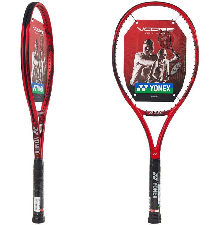 Yonex Vcore Game 100 Tennis Racquet Racket Court Red Aero 100sq 270g G2 16x19 Yonex Yonex Tennis Yonex Tennis Racquet