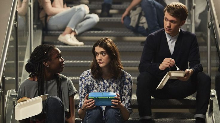 Tanya (Vivian Oparah), April (Sophie Hopkins) & Charlie (Greg Austin) -- Class.S01E02 - ''The Coach with the Dragon Tattoo''  (Class - BBC Series) (Doctor Who - BBC Series) (BBC Three - Photo Gallery: Class - ''The Coach with the Dragon Tattoo'') pic: http://www.bbc.co.uk/programmes/p04c0wx8/p04c0wq5 ; episode page: http://www.bbc.co.uk/programmes/p04c1bs4 ; BBC Three - Photo Gallery: Class - ''The Coach with the Dragon Tattoo'' link: bbc.co.uk/programmes/p04c0wx8