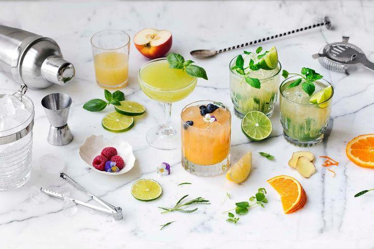 Mocktail er cocktail uten alkohol. Her er alt du trenger av oppskrifter på alkoholfrie drinker til sommerfesten.