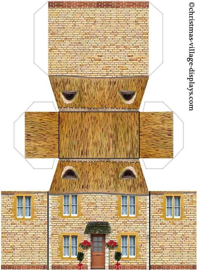 Cottage model house
