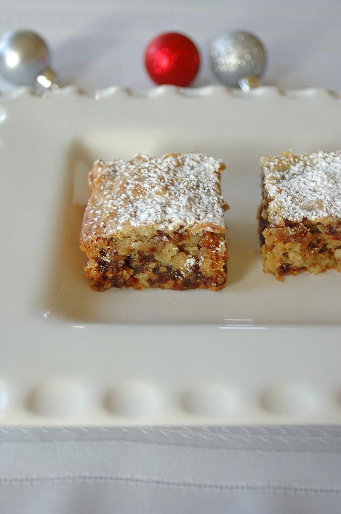Nanna's Chinese Chews | My mother-in-law's date-nut bars based on a recipe from 1917!