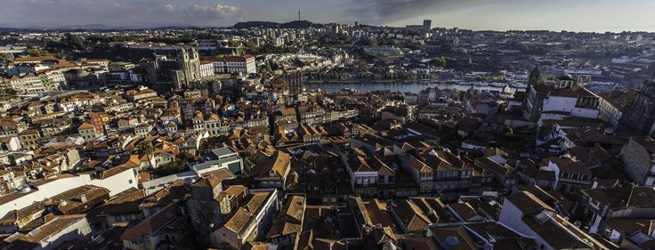 Overlooking the city of Porto from Torre dos Clerigos, Portugal