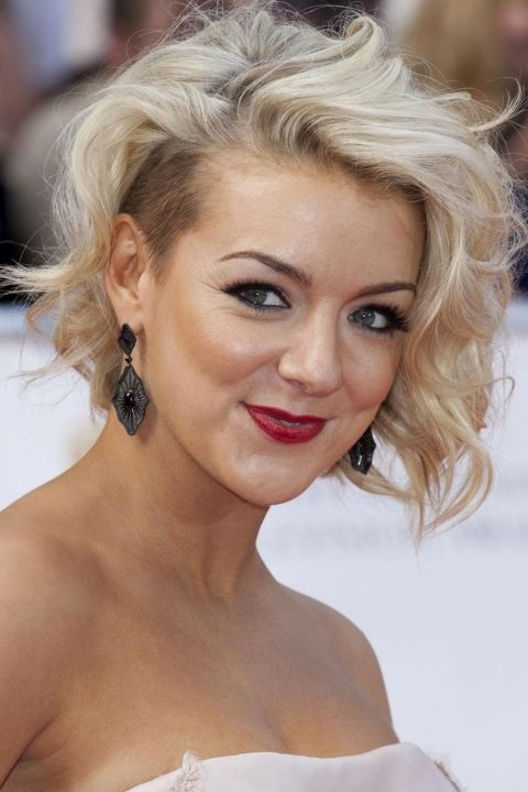 Sheridan Smith Teams Her Undercut With Glam Curls At The BAFTAs, 2011