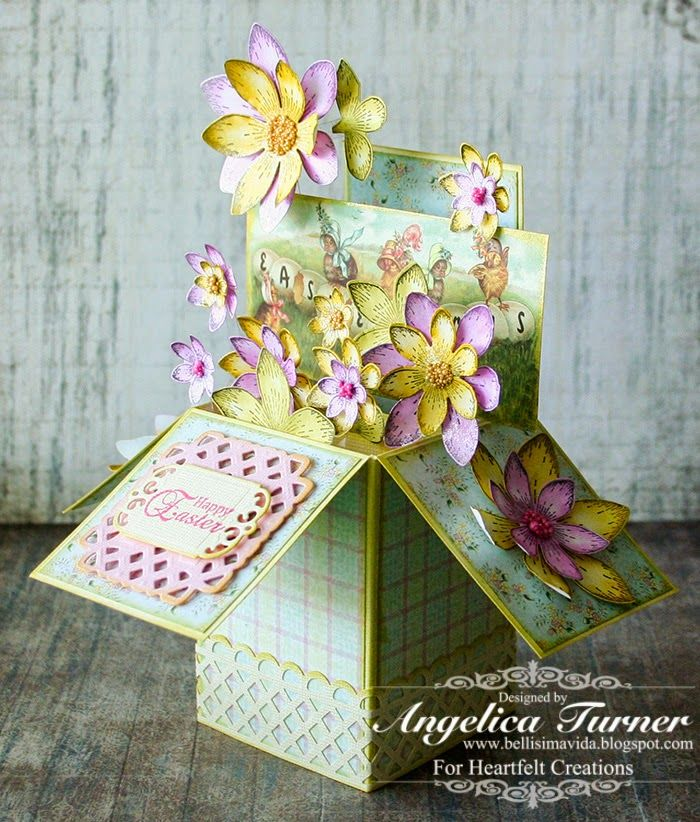 1168 best exploding box images – Boxed Easter Cards