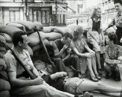 liberation of Paris, 1944, Robert Doisneau
