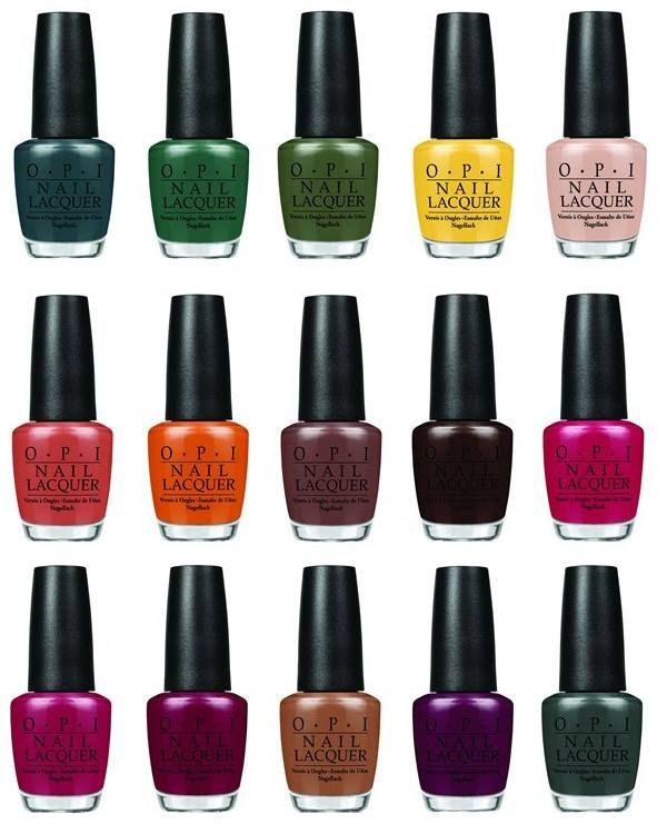 Winter Nail Polish Colors: Review, Shades, Colors: OPI Washington DC Fall Winter