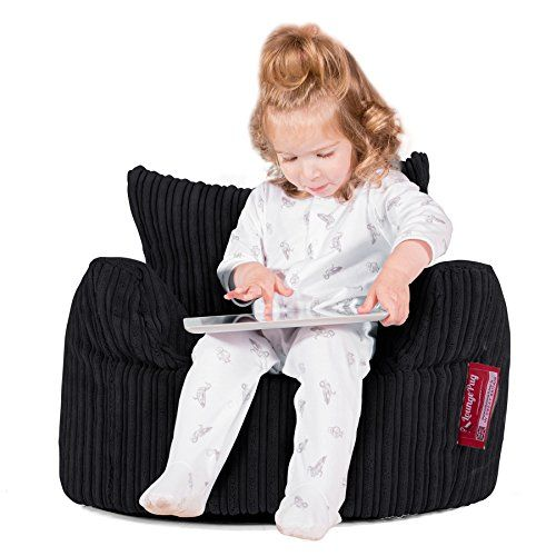 LOUNGE PUG - Childrens Armchair Bean Bag - Kids Beanbag - GREAT for Reading & Gaming---27.4---