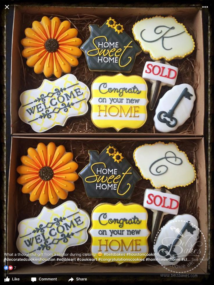 201 Best Images About Homes Moving Welcome Home Decorated Cookies And Cake Pops On Pinterest