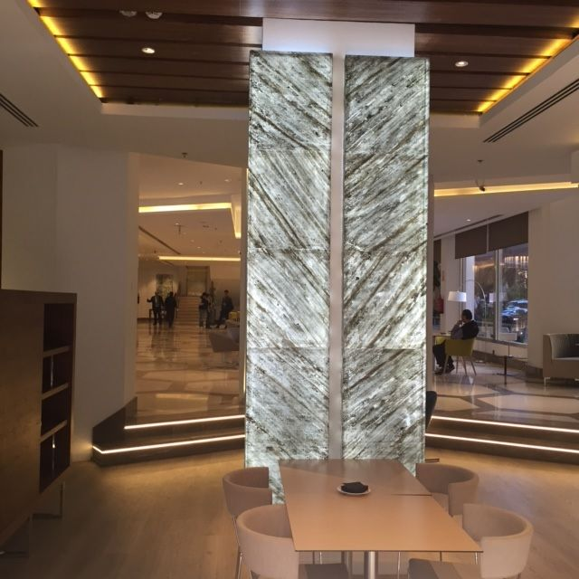 Hotel Husa Princesa in Madrid decorated with #Flextone.