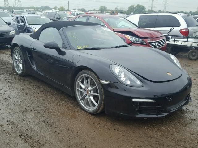 Salvage 2014 Porsche Boxster