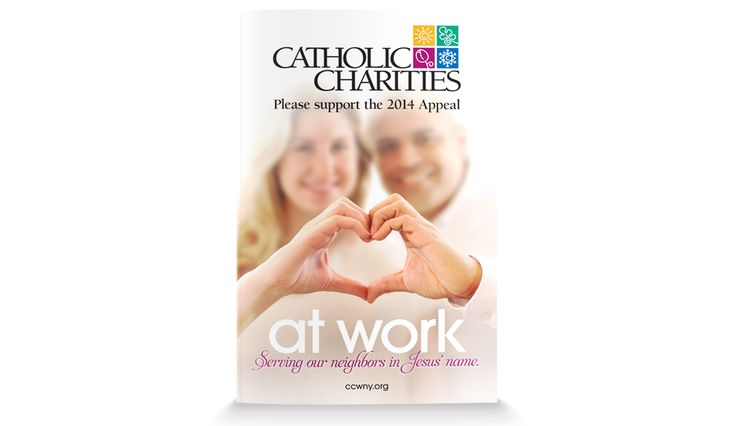 The Martin Group's current PR team identified a theme and approach for the 2014 Appeal that would resonate with Catholics and non-Catholics of all ages, and also wanted to emphasize the success Catholic Charities has generated with thousands of individuals through its programs and services by putting names and faces to the individuals that have been helped.